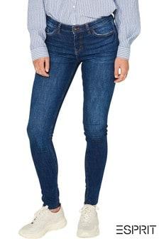 Esprit Dark Wash Denim Stretch Jeans
