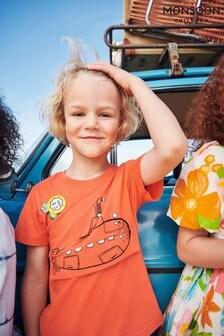Monsoon Orange Otis Submarine T-Shirt
