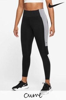 Nike Curve One Colour Block 7/8 Leggings