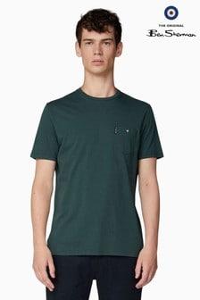 Ben Sherman Green Classic Spade Pocket T-Shirt