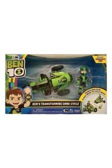 Ben 10: Bens Transforming Omni Cycle Toy