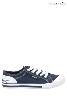 Rocket Dog Blue Jazzin Canvas Lace-Up Shoes