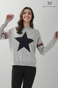 Crew Clothing Company Star Jumper