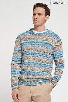 GANT Space Dyed Crew Neck Jumper