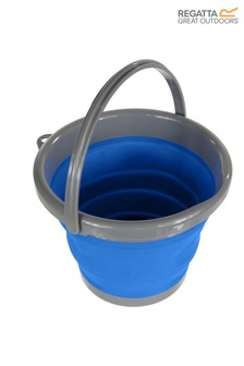 Regatta Blue Silicon Folding Bucket