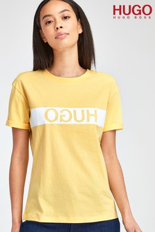 HUGO Yellow Datina T-Shirt
