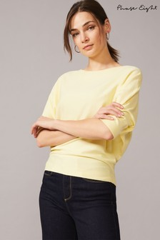 Phase Eight Yellow Cristine Knit Top
