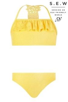 Monsoon Yellow S.E.W Pia Pineapple Bikini