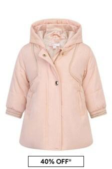 Chloe Kids Baby Girls Pink Padded Jacket