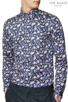 Ted Baker Slanon Cotton Floral Shirt