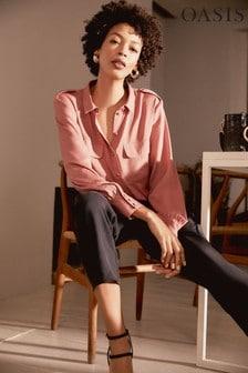Oasis Pink Glam Utility Shirt