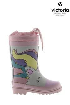 Victoria Pink Unicorn Wellies