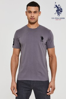 U.S. Polo Assn Grey Large T-Shirt