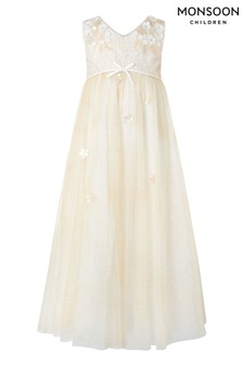Monsoon Gold Lilly Maxi Dress