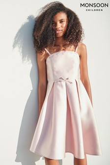 Monsoon Pink Bonnie Bandeau Prom Dress