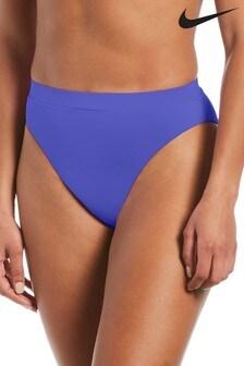 Nike Swim Purple High Waist Bikini Briefs