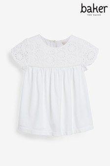Baker by Ted Baker Girls Broderie Top