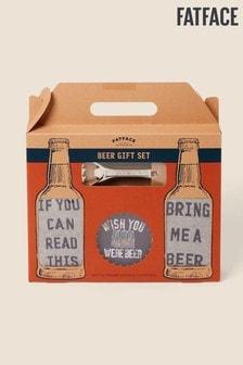 Coffret FatFace Orange bière et chaussettes