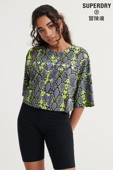 Superdry City Oversized Crop T-Shirt
