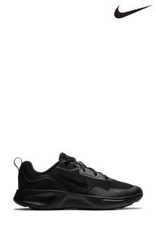Nike Black Wearallday Youth Trainers