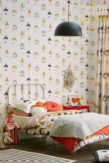 Scion Yellow Hello Dolly Wallpaper