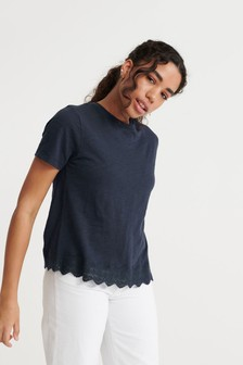 Superdry Lace Mix T-Shirt