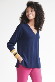 Merino V-Neck Jumper