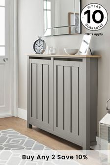 Malvern Dove Grey Radiator Cover