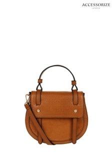 Accessorize Brown Shirley Saddle Bag