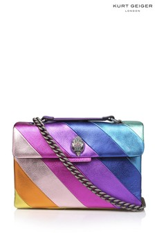 Kurt Geiger London Leather Kensington Rainbow Bag