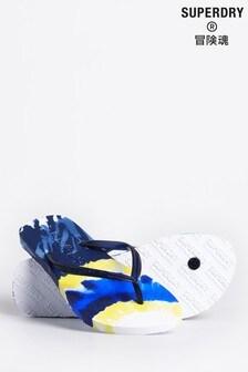 Superdry Super Sleek All Over Print Flip Flops