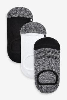 3 Pack Invisible Socks (Older)