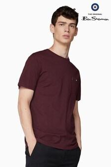 Ben Sherman Red Classic Spade Pocket T-Shirt
