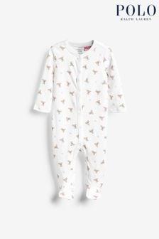 Ralph Lauren Pink Bears Babygrow