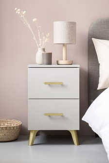 Remy 2 Drawer Bedside