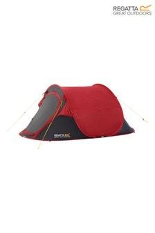 Regatta Red Malawi 2 Person Pop-Up Tent