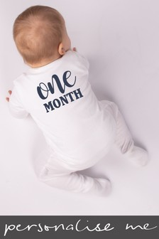 Personalised Age Sleepsuit