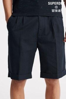 Superdry Edit Pleat Chino Shorts