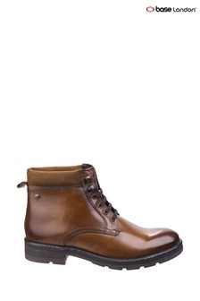 Base London® Brown Panzer Washed Work Boots