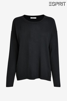 Esprit Black Fine Knit Jumper
