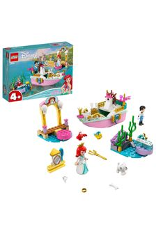 LEGO 43191 Disney Princess Ariel's Celebration Boat Toy