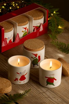 Festive Spice Set Of Candle