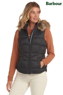Barbour® Coastal Navy Padded Dover Gilet