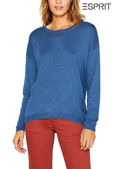 Esprit Blue Fine Knit Jumper