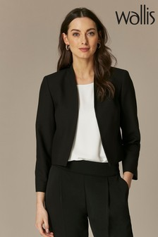 Wallis Black Cropped Jacket