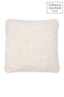 Catherine Lansfield Cream So Soft Cuddly Cushion