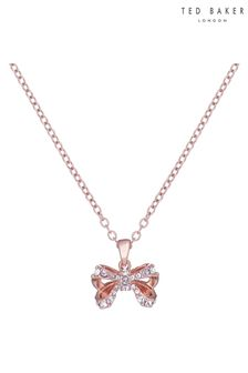 Ted Baker Crestra Crystal Petite Bow Pendant