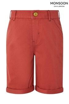 Monsoon Red Rufus Shorts