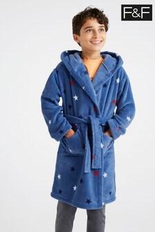 F&F AOP Star Robe
