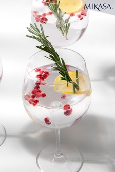 Set of 4 Mikasa Julie Gin Glasses